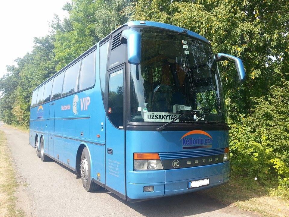 Autobusų nuoma po Lietuvą ir į užsienį